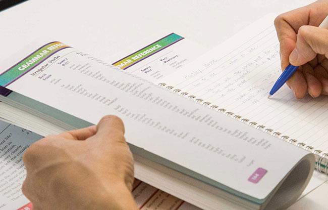 Примеры заданий из теста TOEFL